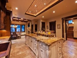Classic Gourmet Kitchen with Chef Appliances