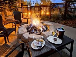 2 Common Area Fire Pits