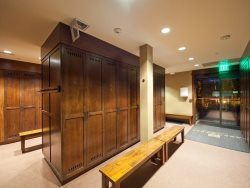 Ski Lockers at Arrowleaf Lodge