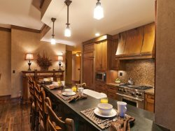Gourmet Kitchen with Large Breakfast Bar