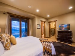 Well-Appointed Master Suite with Flat Screen TV