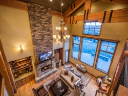 Vaulted Ceilings and Designer Furnishings