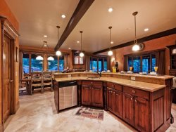 Gourmet Kitchen with Center Island