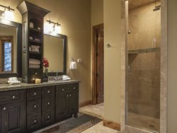 Wondrous Master Bath with Deep Jetted Tub and Separate Shower
