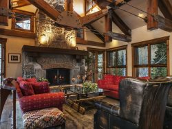 Stunning Lodge Style Great Room