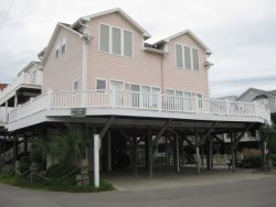 1008 Enjoy this oceanview vacation home in Ocean Lakes just steps away from our sandy beach with WiFi.