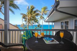 Poipu Palms 302-Two bedroom Ocean Front Poipu condo with stunning ocean views-Free mid-size car