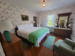 Welcome to the third floor.  The Garden Room has Two Single Beds