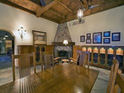 Great Room with Original 1929 Stone Fireplace