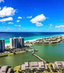Ariel Dunes II Gulf View Condo Located Across From Beach at Seascape Golf, Beach and Tennis Resort!