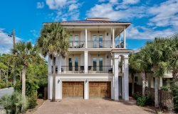 Luxury 7 Bedroom Gulf View Home Sleeps 28 Featuring An Elevator, Game Room, & Private Pool, Near The Beach!
