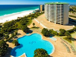 Beach Front Condo at Silver Shells Resort & Spa Featuring A Lagoon Style Pool, Spa & More!