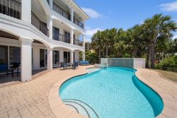 Beautiful Home with Gulf Views, Featuring An Elevator, Private Pool/Hot Tub and Game Room!