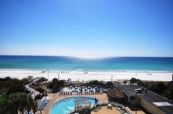 Beautiful Gulf View Beach Front Condo Located at Tops`l Beach & Racquet Resort!