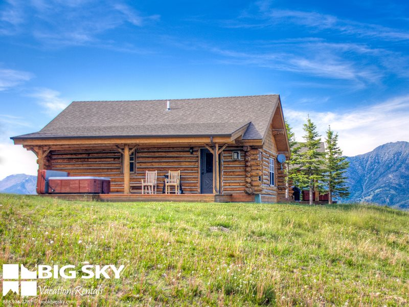 Big sky vacation rentals cowboy heaven mt big sky for Big sky cabin rentals