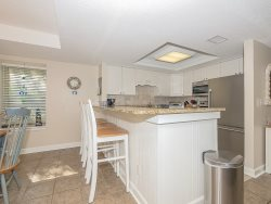 Fully equipped Kitchen at 1704 Bluff Villa has been recently updated