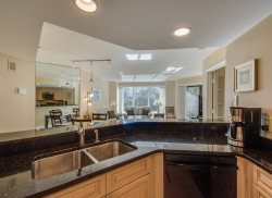 Open Kitchen at 2112 Villamare
