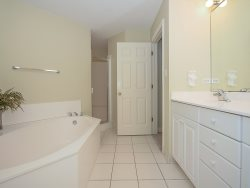 Guest Bedroom at 2313 Sea Crest has a private bathroom