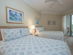 Private Second Balcony located off the Guest Bedroom in 2313 Sea Crest