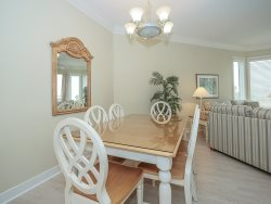 Dining Area at 2313 Sea Crest with a table that seats 6