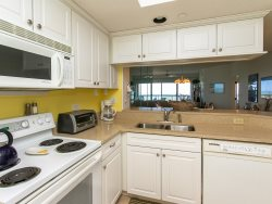 Kitchen with Ocean Views at 412 Barrington Court