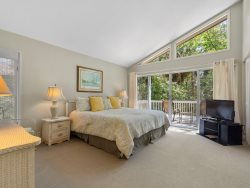 Queen Bedroom at 7 Laughing Gull-Second Floor