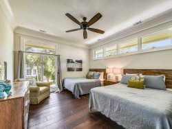 Master Bedroom Suite on the 2nd Level with Access to the Pool Level