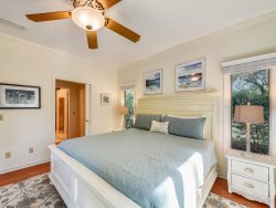 Master Bedroom at 4 East Garrison Place in Sea Pines