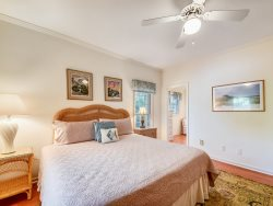 King Bedroom at 4 East Garrison Place in Sea Pines