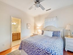 Queen Bedroom at 4 East Garrison Place in Sea Pines