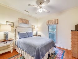 Twin Bedroom at 4 East Garrison Place in Sea Pines