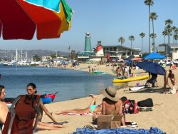 Beach View Dock Casa de Balboa Vacation Rentals Newport Beach