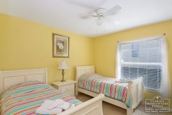 Davenport Vacation Rental in West Ridge - Twin Bedroom With Flat Screen TV- Kids will love it