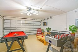 Davenport Vacation Rental in West Ridge - Private Game Room in Garage