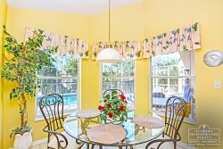 Davenport Vacation Rental in West Ridge - Enjoy a small meal in your own Breakfast Nook