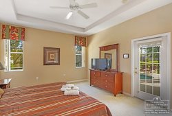 Calabay Parc at Tower Lake Disney Community - Master Bedroom with TV