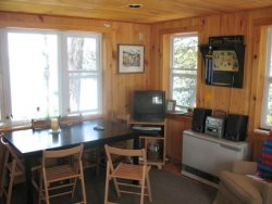 Dining room- Moosehead Lake Island