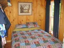 Bedroom- Moosehead Lake Island