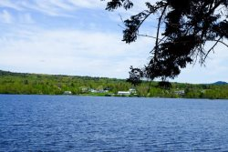 View of Moosehead Lake from Luxurious home