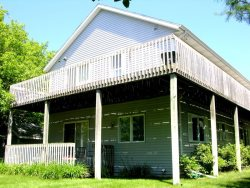 Grand Haven Rental Near Pigeon Lake within Steps of Shared Private Lake Michigan Beach!