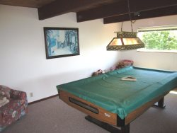 Honey Home - Lower Level - Pool Table