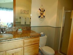 Starry Night - upper level, suite 2, bathroom