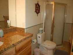 Starry Night - upper level, suite 3, bathroom