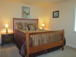 Ambers Point Of View - Bedroom 1 - Queen Bed