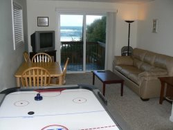Annas Beach House - Lower Level Family Room