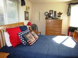 Captain Jacks - Main Level - 1st Mate Bedroom 2 Nautical Furnishings