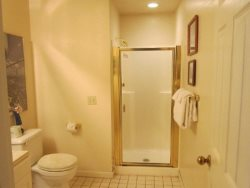 Captain Jacks - Main Level - Hallway Bathroom - With Shower