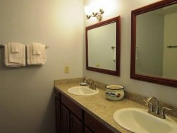Dock Of The Bay 308 - Main Level - Master Bathroom - Jack and Jill Sinks