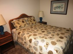Dock Of The Bay 308 - Main Level - Bedroom 2 - Queen Bed