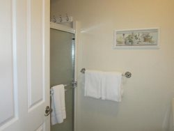 Just For The Halibut - 1st Floor - Street Level - Laundry Room Shower